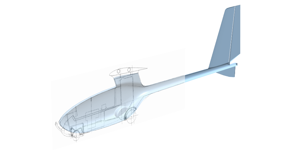 PW SuperZoom unmanned aircraft project